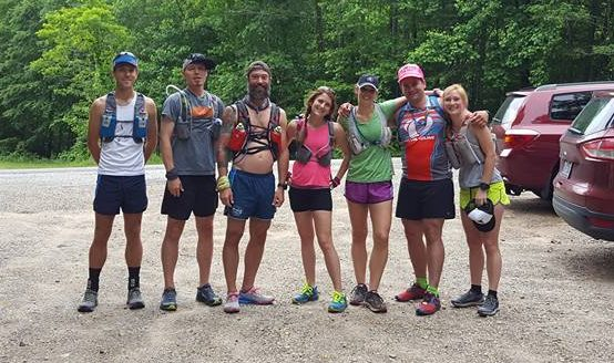 Our fearless crew at the trailhead
