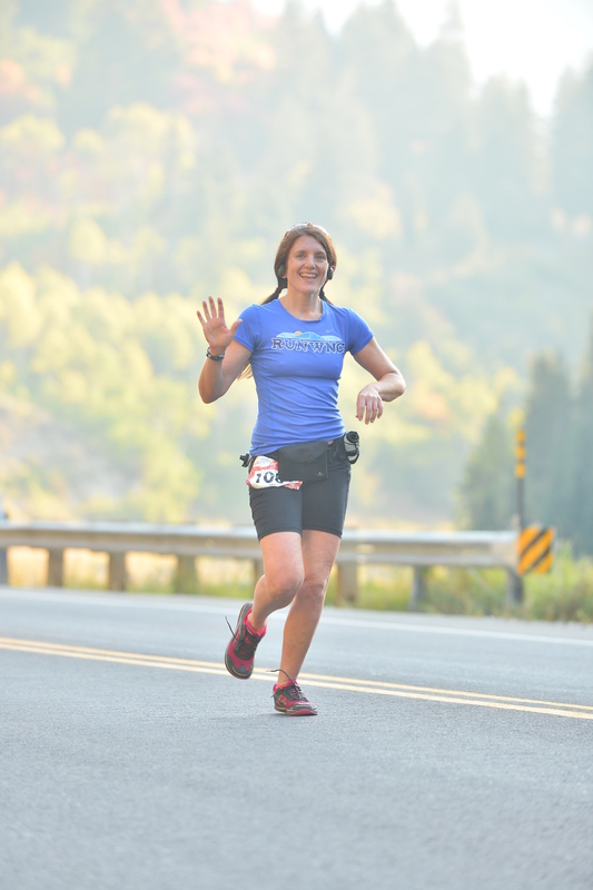 Big Cottonwood Marathon 2014 in Altras