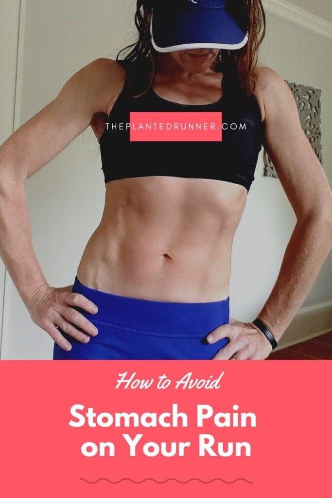 avoid stomach pain on the run