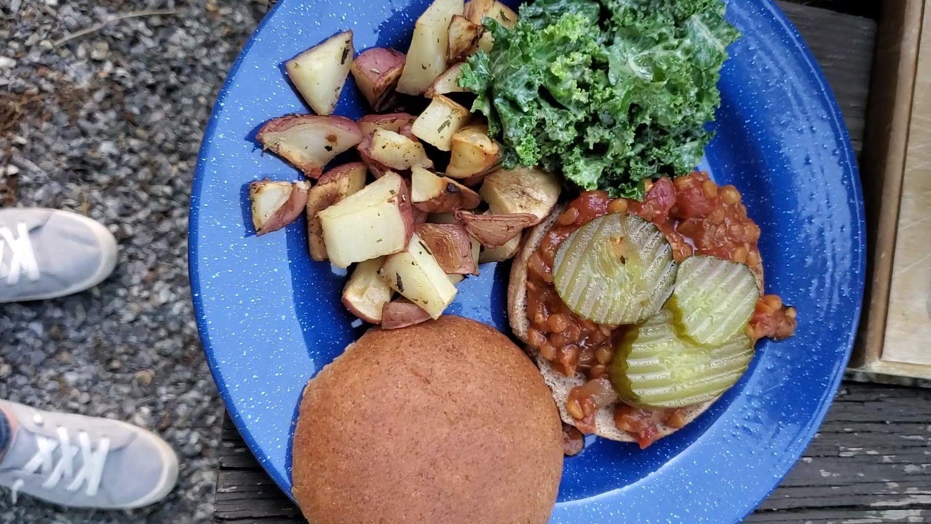 instant pot lentil sloppy joes vegan