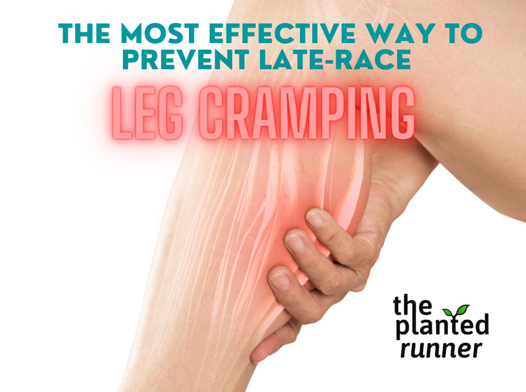 prevent leg cramping marathon