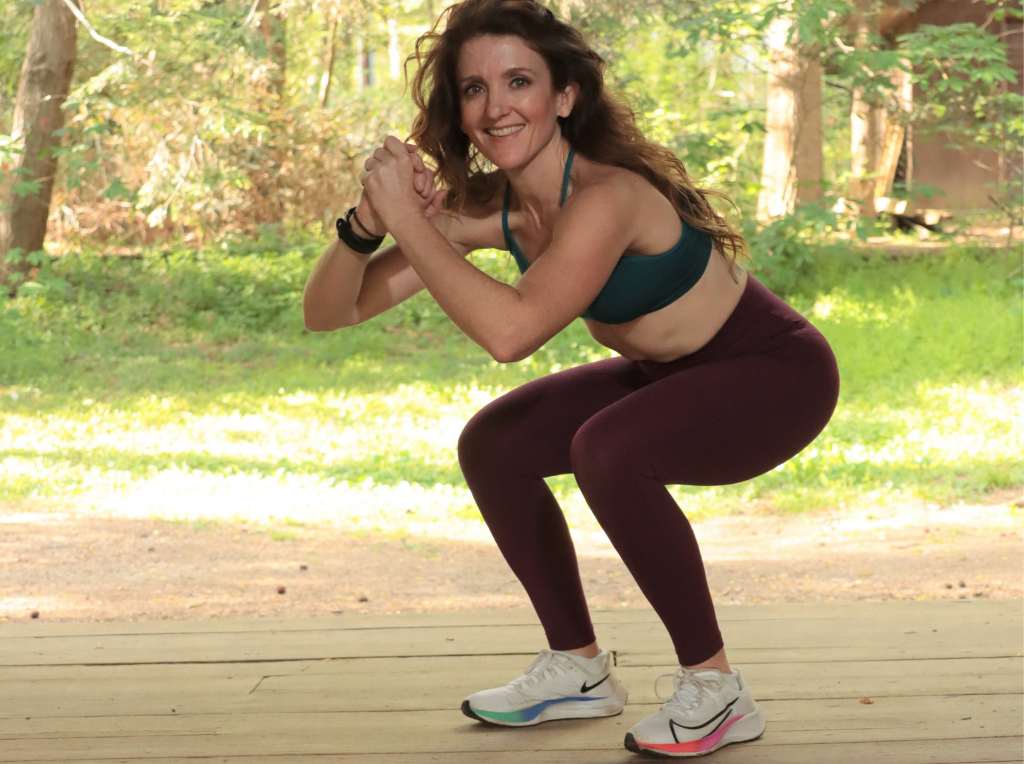 squat strength training for runners