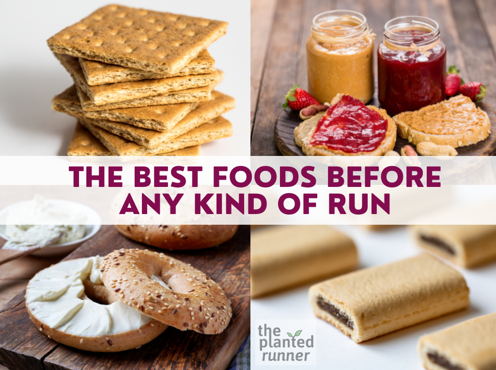 the best foods to eat before a run
